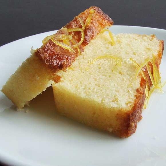 柠檬蛋糕 giverecipe.com
