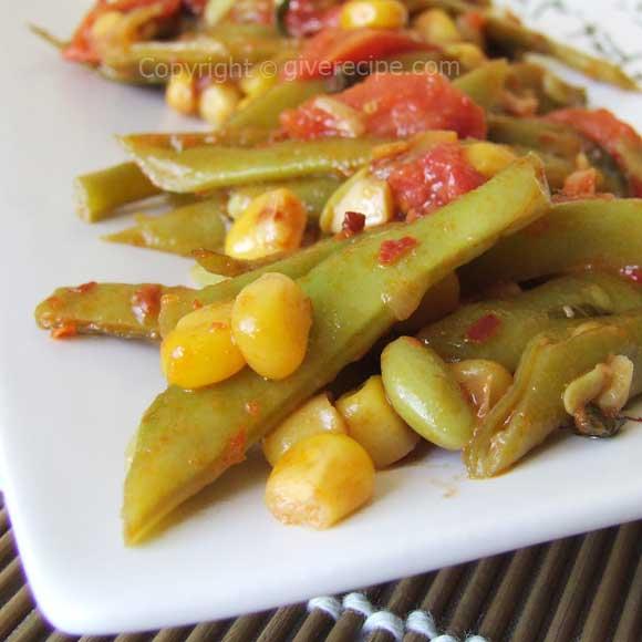 绿豆玉米|giverecipe.com