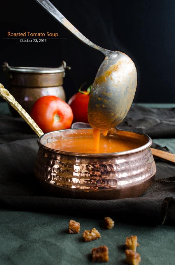 烤番茄汤|giverecipe.com|番茄汤烤番茄