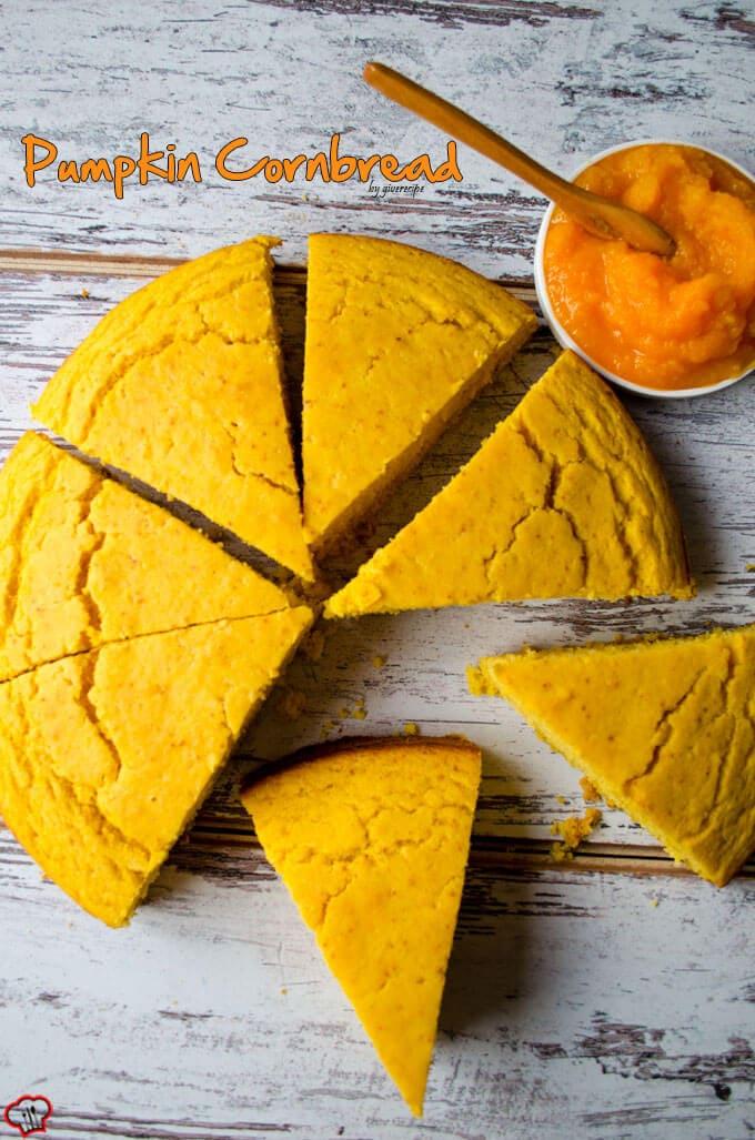 南瓜玉米面包|giverecipe.com|南瓜玉米面包面包烘焙\秋天\秋天食谱狗万