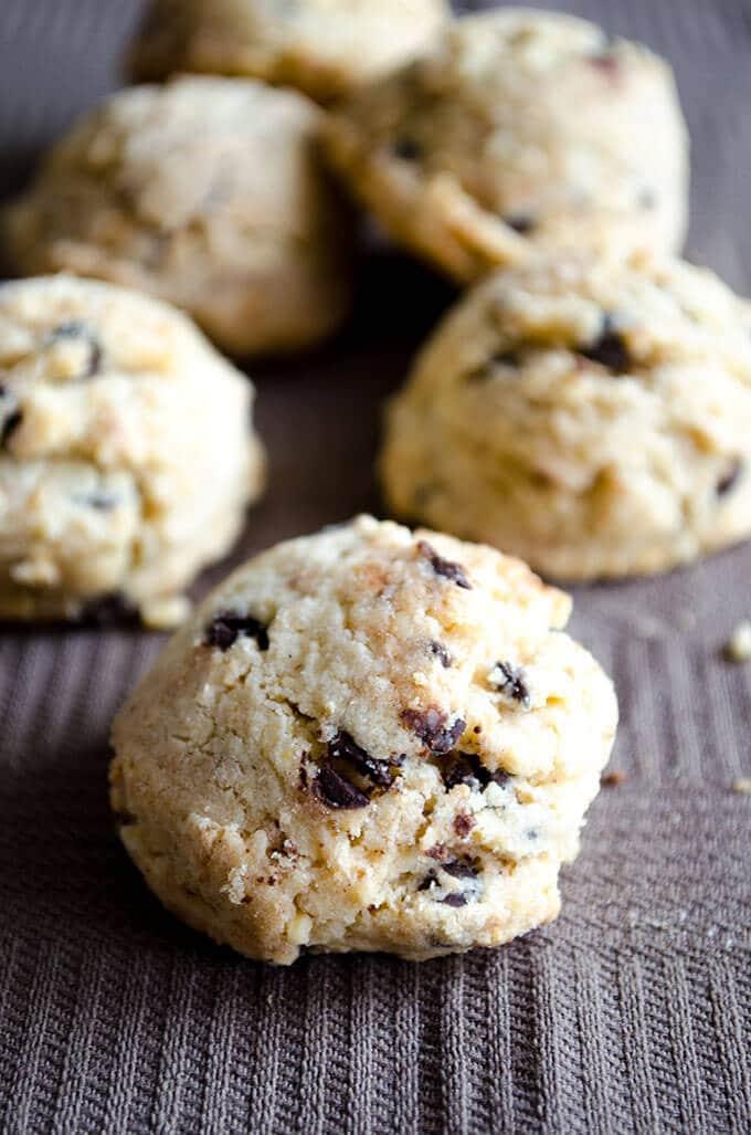 瘦巧克力饼干| | # skinnycookies。giverecipe.com