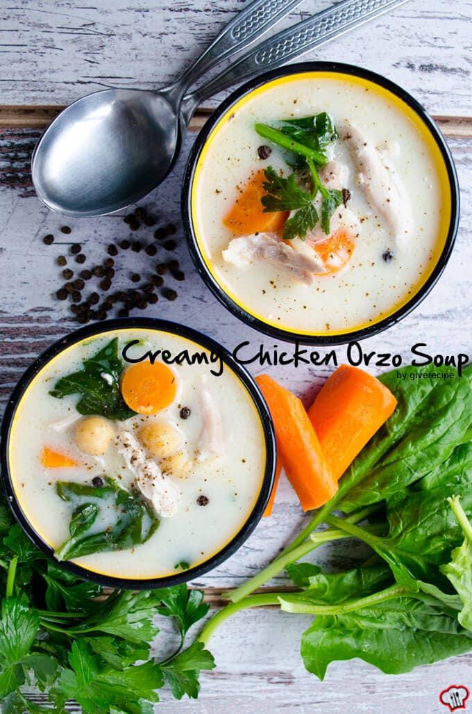 奶油鸡米粒汤giverecipe.com | | # #鸡肉汤
