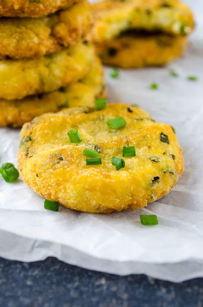 土豆捣碎的土豆煎饼giverecipe.com | | # #煎饼