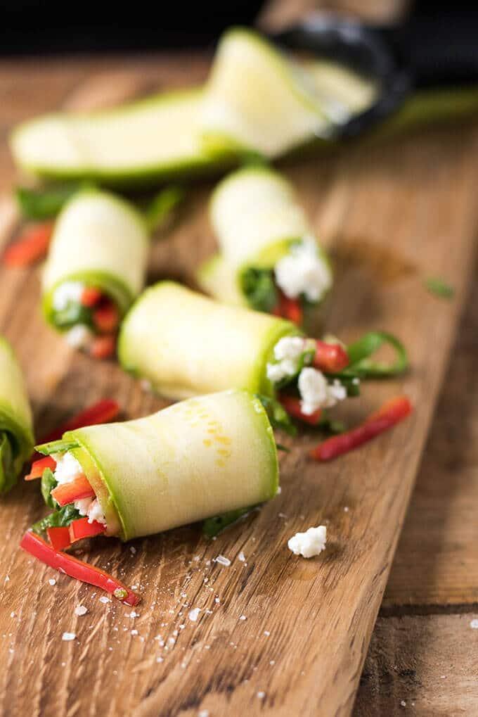 生南瓜滚giverecipe.com     # # rawfood西葫芦