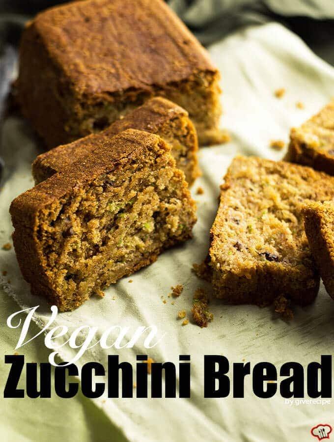 素食西葫芦面包giverecipe.com | | # # zucchinibread素食