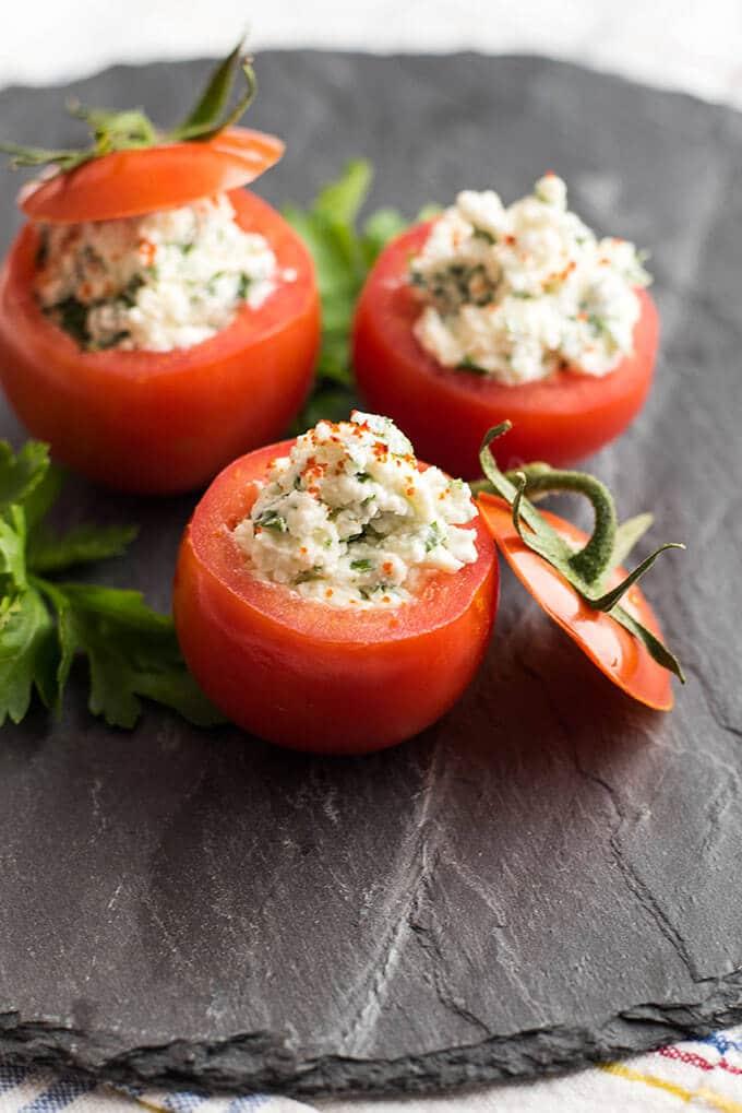 奶酪包西红柿